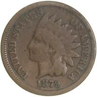 1879 Indian Head Cent Good Penny GD