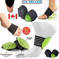 Foot Heel Pain Relief Plantar Fasciitis Insole Pads Arch Support Braces Shoes CA