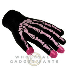 Conductive Touch Screen Gloves-Skeleton Pink Hand Accessory Hand Accessory