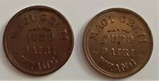New Listing1863 Magic Token Set Of Mt221 & Mt222 Magi Genii Qubo Dairi Whang R7 11-25