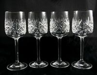 4 Stunning Edinburgh Lead Crystal Small Sherry Liqueur Port Glasses Berkeley