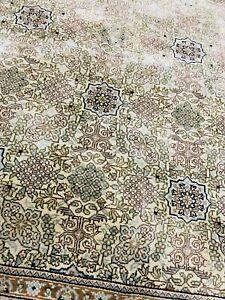Orient Teppich Ghom 170x94kh Seide Seidenteppich Perserteppich Silk Rug  Handmad