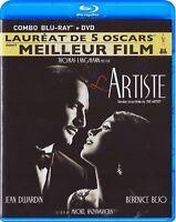 THE ARTIST (L'ARTISTE, J. DUJARDIN) + FR SLIPCOVER - ENG SUB *NEW BLU-RAY+DVD*