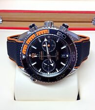 Omega Planet Ocean Chronograph Black Dial 215.32.46.51.01.001 Box & Papers 2017