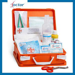 Cassetta Valigetta Medica di pronto soccorso con ALLEGATO 2 per aziende - 3 dip