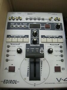Edirol V-4 Video Mixer (with Effects) Used.