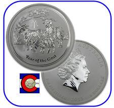 2015 Lunar Goat 5 oz Silver Coin, Series II, Australia
