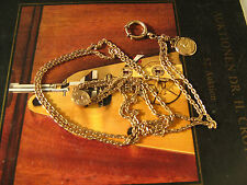 Beautiful antique 14k GF watch chain,Kallmar & Jourdan Pforzheim,Imperial Russia