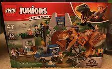 Lego Juniors Jurassic World 10758 T.Rex Breakout 150 pcs. Set NEW