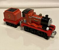 Talking James with Tender Thomas & Friends Take N Play Along Diecast Train