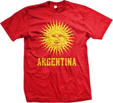 Sun of May Sol de Mayo Emblem Argentina Argentine Pride Mens T-shirt