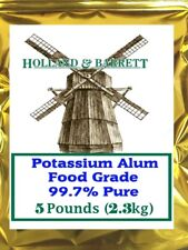 Holland and Barrett Potassium Alum, Food Grade 99.7% Pure 5 lb
