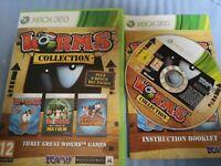 Worms Collection (Microsoft Xbox 360, 2012) - European Version