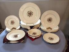 Wedgwood Conway Edme creamware TWENTY-THREE piece set AK8384 ca 1931