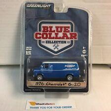 1976 Chevrolet G-20 * Greenlight Blue Collar * WB11