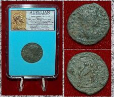 Roman Empire Coin AURELIAN Woman Presenting Wreath To Aurelian Antoninianus