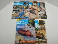 Vintage 1993 Model Railroader Magazine Lot Of 5