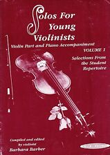 Solos for Young Violinists vol 1 partition violon et piano