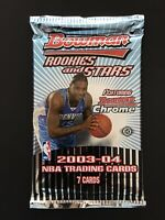 2003-04 BOWMAN ROOKIE STARS HOBBY PACK POSSIBLE (LEBRON JAMES GOLD CHROME   RC)?