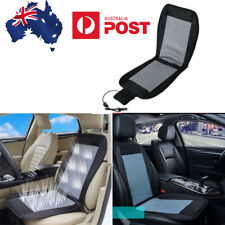 Car Seat Cooler Cushion Summer Cooling Wind Seat Chair Cover Pad 12V (AU Stock)
