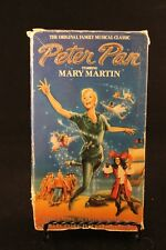 Peter Pan - VHS - 1960 - Mary Martin as Peter Pan - 1 hour 40 minutes