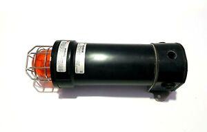 FEDERAL SIGNAL WV450XE15-024A GRP STROBE LIGHT AMBER SERIES B 24-48 VDC