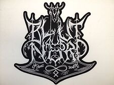 BLUT AUS NORD  EMBROIDERED BACK PATCH