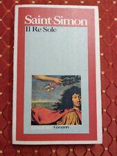 IL RE SOLE di SAINT-SIMON ed GARZANTI, CUC 0043