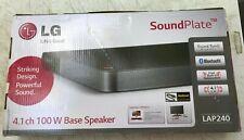 LG Electronics LAP240 Sound Plate 100W Slim 4.1 Ch Surround Sound Speaker System