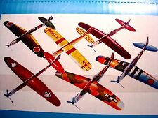 "Closeout 48 7.5"" Foam Wwii Gliders Festival, Carnival, Party Toy, Party Favor"