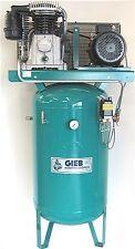Kompressor GIEB Werkstattkompressor 1500/270-11 stehend; Motor 7,5Kw 10 PS