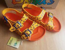 Birkis EU 34 Birkenstock Sandalen mit Fersenriemen 220 mm Sun Orange made in Ger