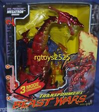 Transformers Beast Wars Transmetals 2 MEGATRON New Factory Sealed Made 1999