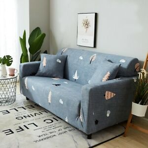 Sofa Cover Stretchable Wall Wrap Couch Slipcover Widened Elastic Band Slipcover
