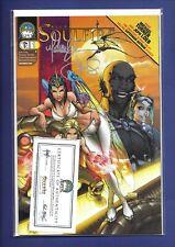 SOULFIRE #1 COVER A 2004 Signed By Michael Turner W/ Coa Aspen Comics NM