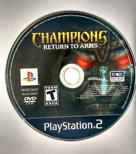 Champions: Return to Arms (Playstation 2, 2005) PS2 | DISC ONLY