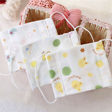 Children gauze mask High density pure cotton breathable baby dust proof mask B,