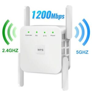 Wireless WiFi Repeater 1200Mbps Router Booster 2.4G Wifi Long Range Extender 5G