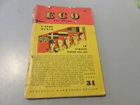 Periód Mondadori Eco De Mundo N° 34 Junio 1949 Liras 100