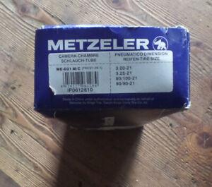 Schlauch für 3.00 3.25 90/90 80/100 90/100 21 zoll Reifen tube metzler