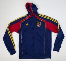 Adidas Real Salt Lake RSL Full Zip Hoodie Sweatshirt Men's Size XL MLS Soccer