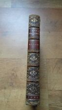 1839 Book THE EPICUREAN Thomas Moore FINE FULL LEATHER BINDINGS 1st Edition