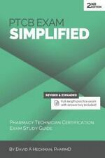 PTCB Exam Simplified : Pharmacy Technician Certification Exam Study Guide by...