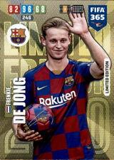 Panini Fifa 365 2020 Karten Cards - Frenkie De Jong - Limited Edtion