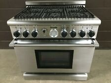 "Thermador Pdr366Zs - 36"" Dual Fuel Range 6 Burner Pro Grand Stainless"