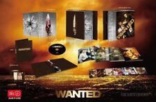 Wanted Blu-ray SteelBook Lenticular HDzeta Special Edition Silver Label