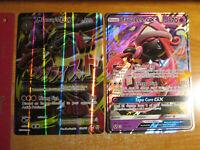 NM Pokemon JUMBO/OVERSIZED Card EX/GX Lot#J Mega M Lucario 55a/111+Tapu Lele 60a