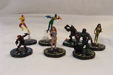 Joblots-x6 Marvel Heroclix chiffres et x1 Lord of the Rings Combat Hex Figure