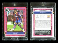 2020-21 Topps Museum ANSU FATI Red Ruby Parallel 4/25 - FC Barcelona - MINT!