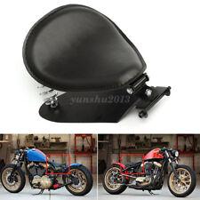 Motorrad Solo Sitz Schwingsattel mit Sitzfeder Grundplatte für Harley Sportster